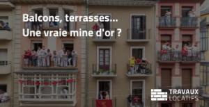 balcon terrasse investissement locatif mine or